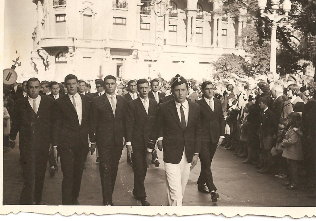 Desfile Colegio Inmaculada 1960 Grandes Aparatos