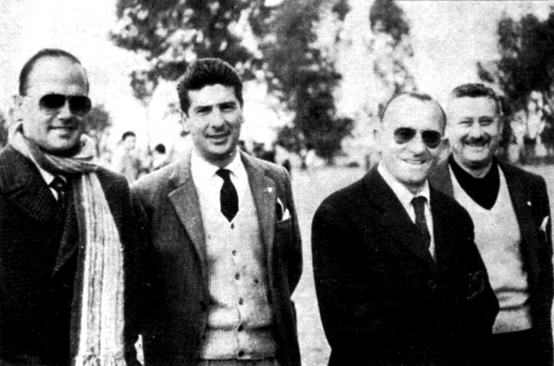 Drenkard, Hernández, Zarza y Olivera